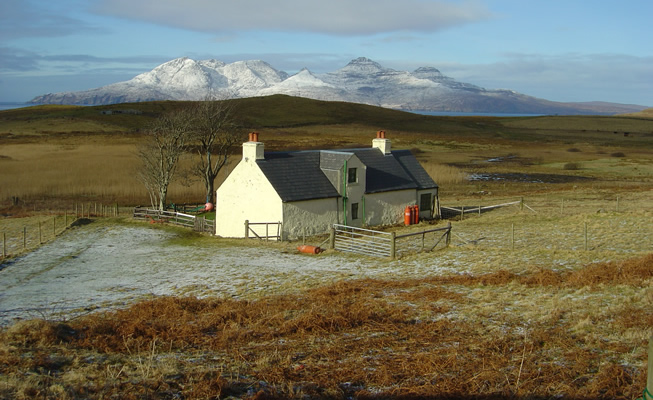 About the Top House on the Isle of Eigg